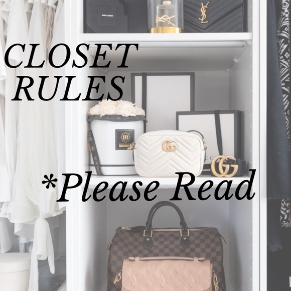😍WELCOME TO MY CLOSET!!! Please take a quick read